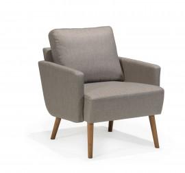 Scandinavian Touch low back chair