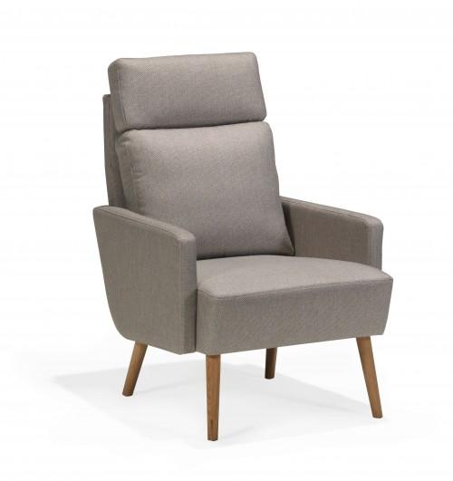 Scandinavian touch fotelis aukštu atlošu