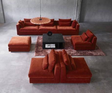 LOUNGE modulinė sofa 360x93