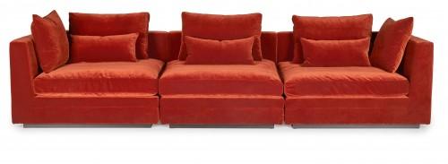 Lounge modular sofa 343x93