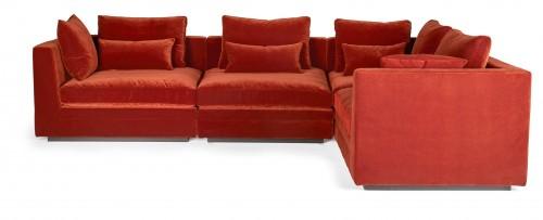 LOUNGE modulinė sofa 313x93/186