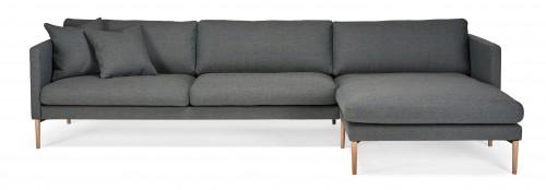 ELEGANTE 2-vietė sofa + šezlongas